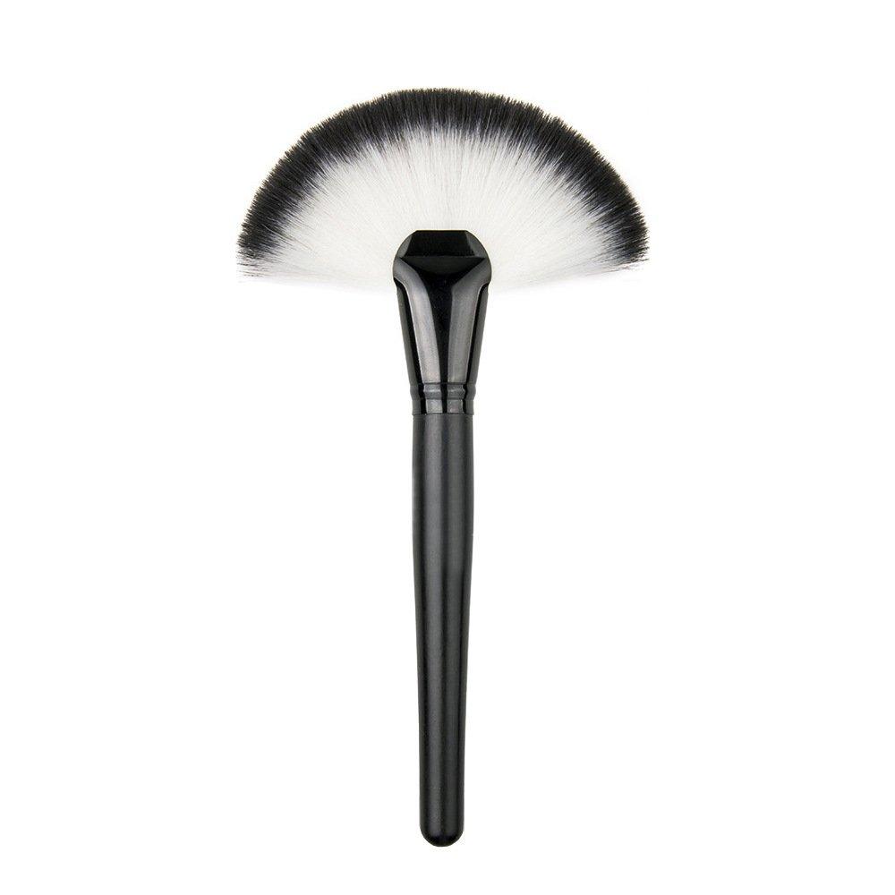 TOPBeauty Slim Fan Makeup Brush Highlighter Face Contour Powder Brush