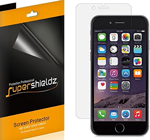 [6-Pack] Supershieldz- Anti-Glare & Anti-Fingerprint (Matte) Screen Protector for Apple iPhone 6S Plus -Lifetime Replacements Warranty - Retail Packaging