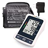 Blood pressure machine by LotFancy, Large BP Cuff, Accurate for Home Use, FDA
