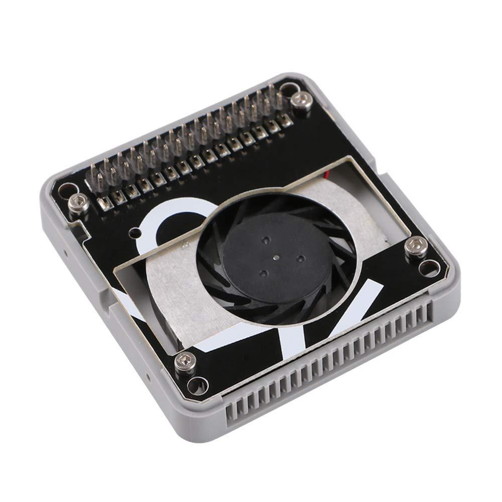 WINGONEER® M5Stack ESP32 Módulo de ventilador de enfriamiento de 5 V, que incluye un mini ventilador de enfriamiento de