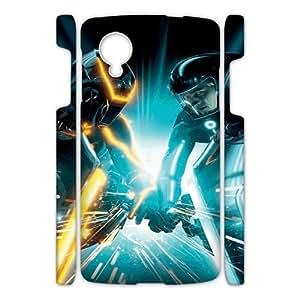 Tron Legacy HILDA0020330 3D Art Print Design Phone Back Case Customized Hard Shell Protection Google Nexus 5