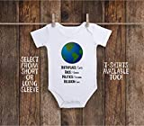 Birthplace Earth Human Race Rights Religion Love Toddler Kids Tee Shirt or Baby Bodysuit