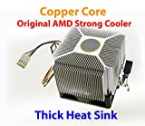 phenom ii 965 - PartsCollection AMD Copper Core Heatsink Cooling Fan for Socket AM2 / AM3 / FM2