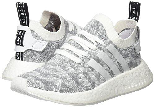 De Black footwear core Chaussures Fitness W footwear r2 White Pk Blanc White Nmd Femme Adidas 6XTBzS