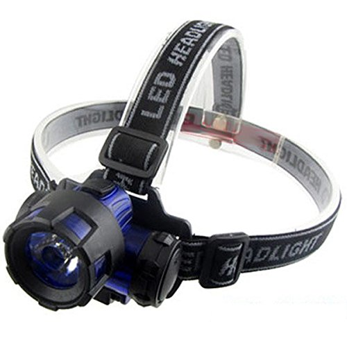 Bright Headlamp - Headlamps For Women - Plastic 3W Led Energy Saving Headlamp Outdoor Headlight (Outdoor Led Headlamp)