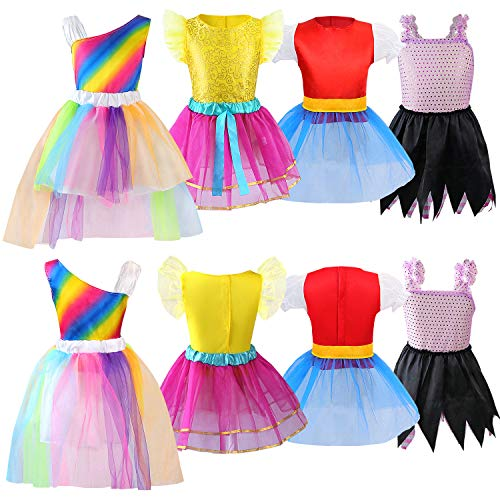 Jeowoqao Girls Dress up Trunk Princess Set, 24 PCS Pretend Play Costume Set, Fairytale, Supergirl, P - http://coolthings.us