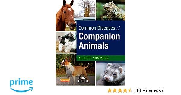 Common Diseases of Companion Animals: 8601419500475