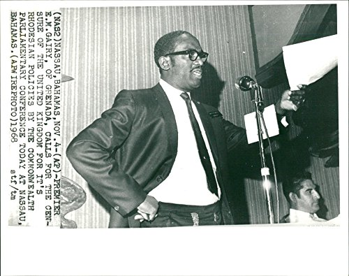 Vintage photo of E.M Gairy