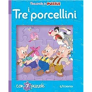 I Tre Porcellini Finestrelle In Puzzle Ediz A Colori Cartonato 2 Ott 2018
