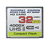Digital Speed 4000X 32GB Professional High Speed Mach III 600MB/s Error Free (CF)