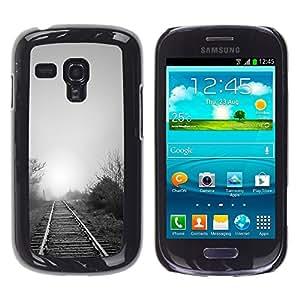 "For Samsung Galaxy S3 MINI ( NOT for regular S3 , S-type Naturaleza Hermosa Forrest Verde 119"" - Arte & diseño plástico duro Fundas Cover Cubre Hard Case Cover"