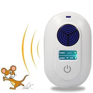 repelentes ultrasónicos Electromagnético y ultrasonido Repelente de control de plagas - Vehículo solar de alta potencia 8 ...
