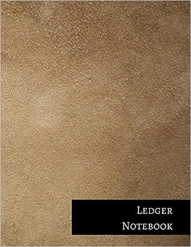 Ledger Notebook: Two Columnar Format