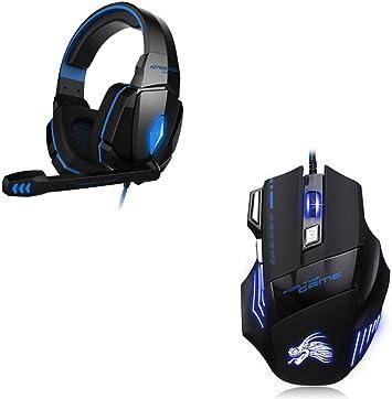 Shot Case Pack Gaming para PC Compaq (ratón Gamer de 6 Botones + ...
