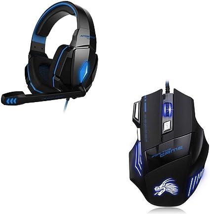 Shot Case Pack Gaming para PC Medion (ratón Gamer 6 Botones + ...