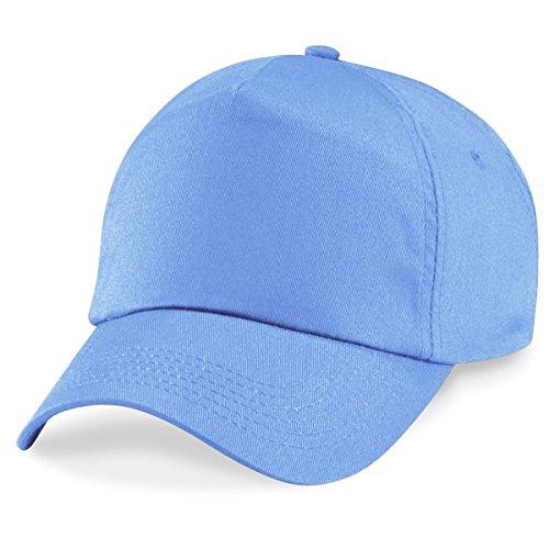 claro Gorra Talla de mujer béisbol Beechfield Azul para única azul qfwAg0n7HW