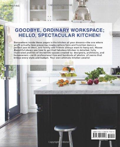 House Beautiful Kitchens: Creating A Beautiful Kitchen Of Your Own: Lisa  Cregan, House Beautiful: 9781588169006: Amazon.com: Books