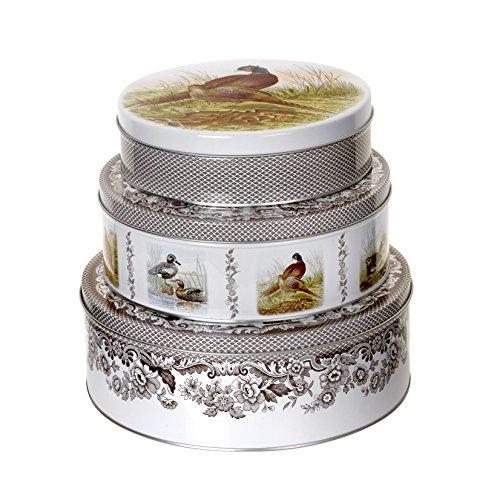 Spode 2018738339 Woodland Nesting Cake Tins, Set of 3 ()