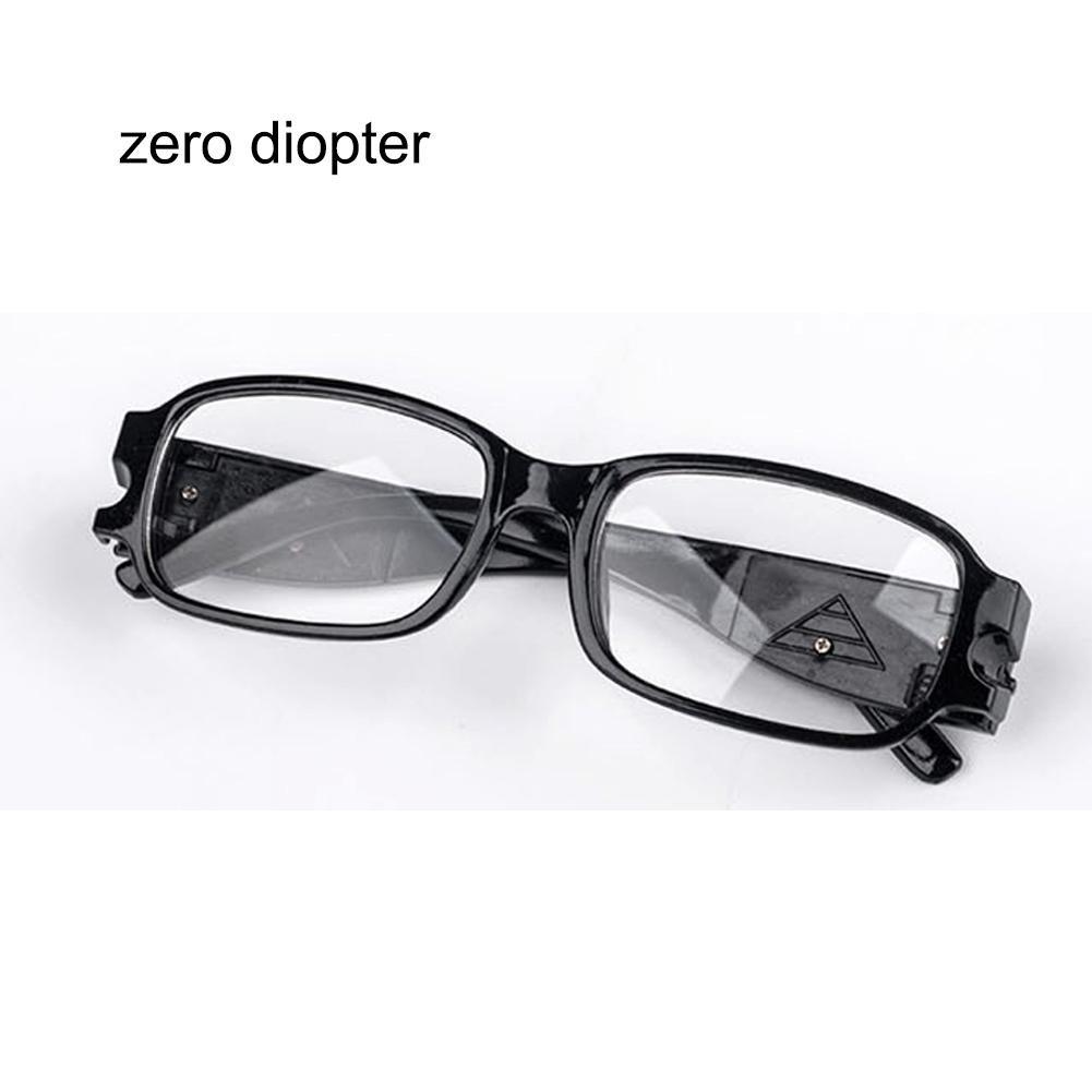 f8d7b7d833 Zhuotop tipo dioptrí a tipo dioptría Gafas de lectura LED ajustables unisex  con visió n nocturna ...