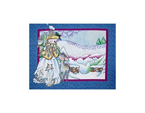 Snowman Panel - 2