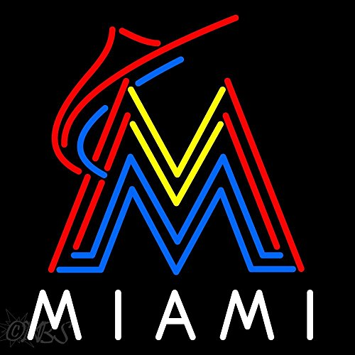 Marlins Neon Lights, Miami Marlins Neon Light, Marlins