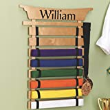 Personalized Karate Belt Display