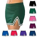 Kyпить Pizzazz Pink A Line Cheer Uniform Skirt Adult L на Amazon.com