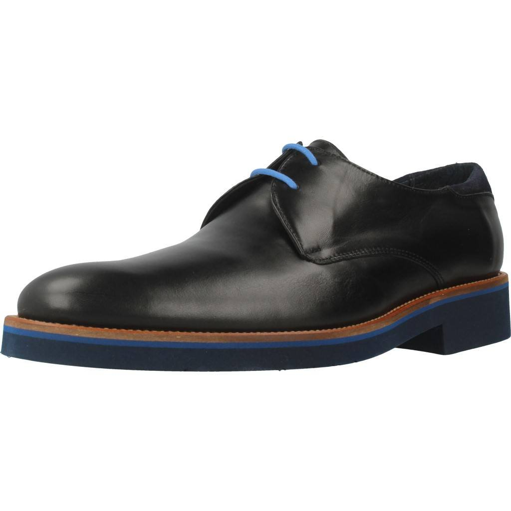 Zapatos de Cordones para Hombre, Color Negro, Marca ANGEL INFANTES, Modelo Zapatos De Cordones para Hombre ANGEL INFANTES 31055 Negro