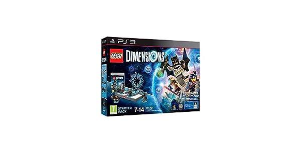 Lego Dimensions PS3 Starter Pack juego de construcción: Amazon.es: Videojuegos