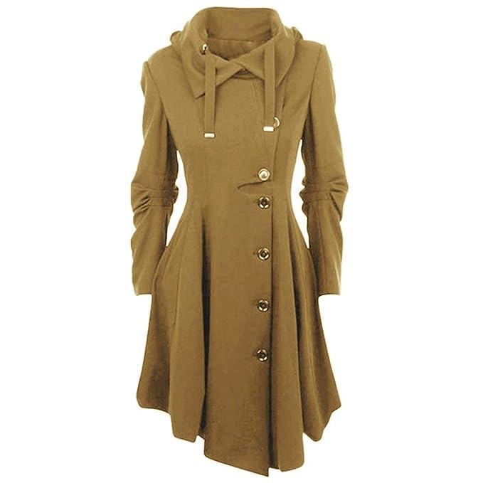 Encapuchado Classic Gótica Fashion De Mode Casual Abrigos Mujer wfp6xqfT
