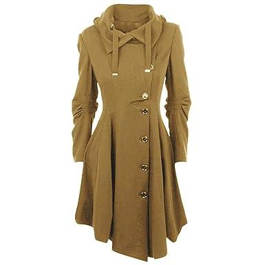 Gotico Classiche Casual Donna Incappucciato Vintage Cappotto Fashion PqSI7Rx