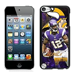 NFL Minnesota Vikings Percy Harvin ipod Touch 5 Casecell phone cases&Gift Holiday&Christmas Gifts NFIU8713964