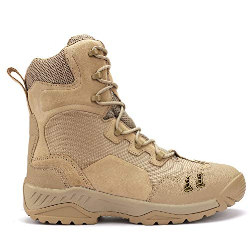 VIZARD Instinct Military Tactical Combat hot Weather Boot (8) Desert Sand