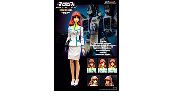 KitzConcept 1//12 Robotech Lisa Action Figure New