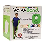 Val-U-Band Latex Free Exercise Band, Lime Review