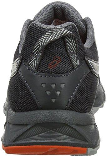 Gel Damen Sonoma Dark 3 Black Grey 001 Traillaufschuhe Asics Schwarz Bvwq6a