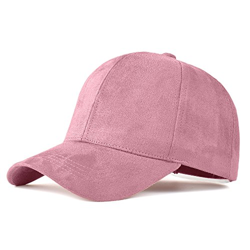 Snapback Suede Baseball Cap Fashion Sportcap Hip Hop Flat Hat For Women Adjustable Solid color Hats