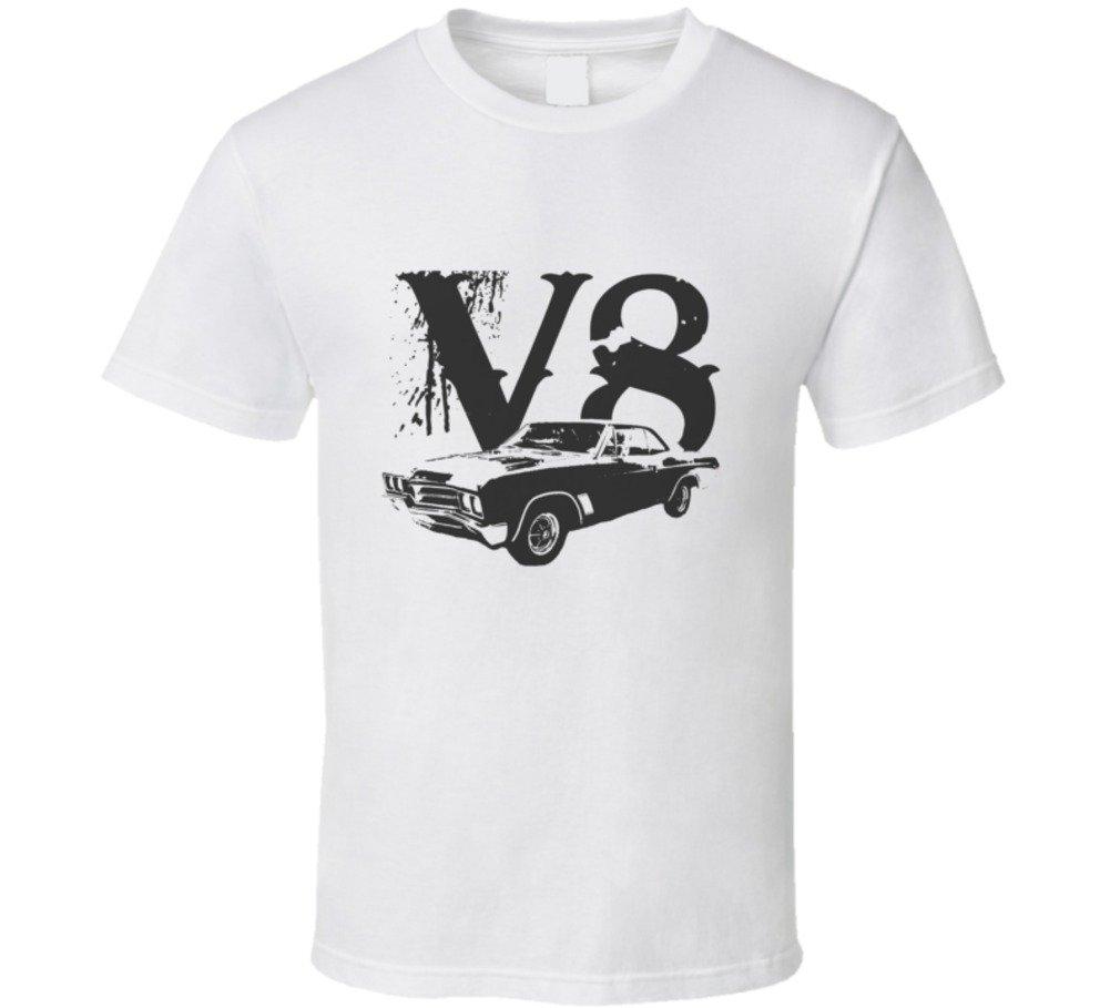 Cargeektees Com 1967 Skylark Side View V8 Car Lover Gift Enthusiast T Shirt 7367
