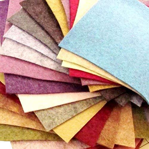 Merino Wool Felt - 23 Felt Sheets - 6