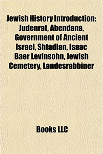 ... Government of ancient Israel, Shtadlan, Isaac Baer Levinsohn, Radnice, Palestinian Jews: Amazon.es: Source: Wikipedia: Libros en idiomas extranjeros