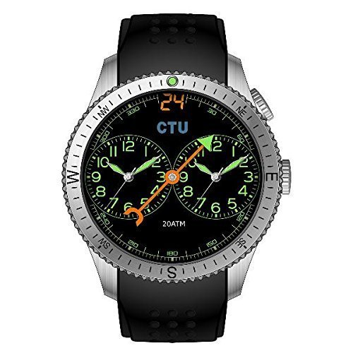 24 Series CTU Agent Watch Compass Collection