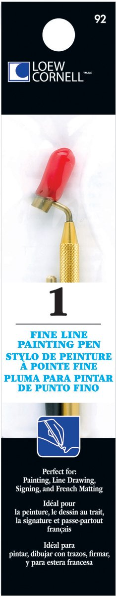 Loew-Cornell Fine Line Painting Pen-, Other, Multicoloured Notions Marketing 92