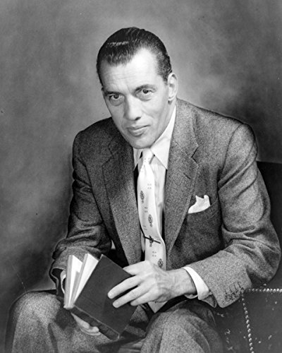 ClassicPix Photo Print 11x14: Ed Sullivan, Three-Quarter Length Portrait, Seated, Facing.