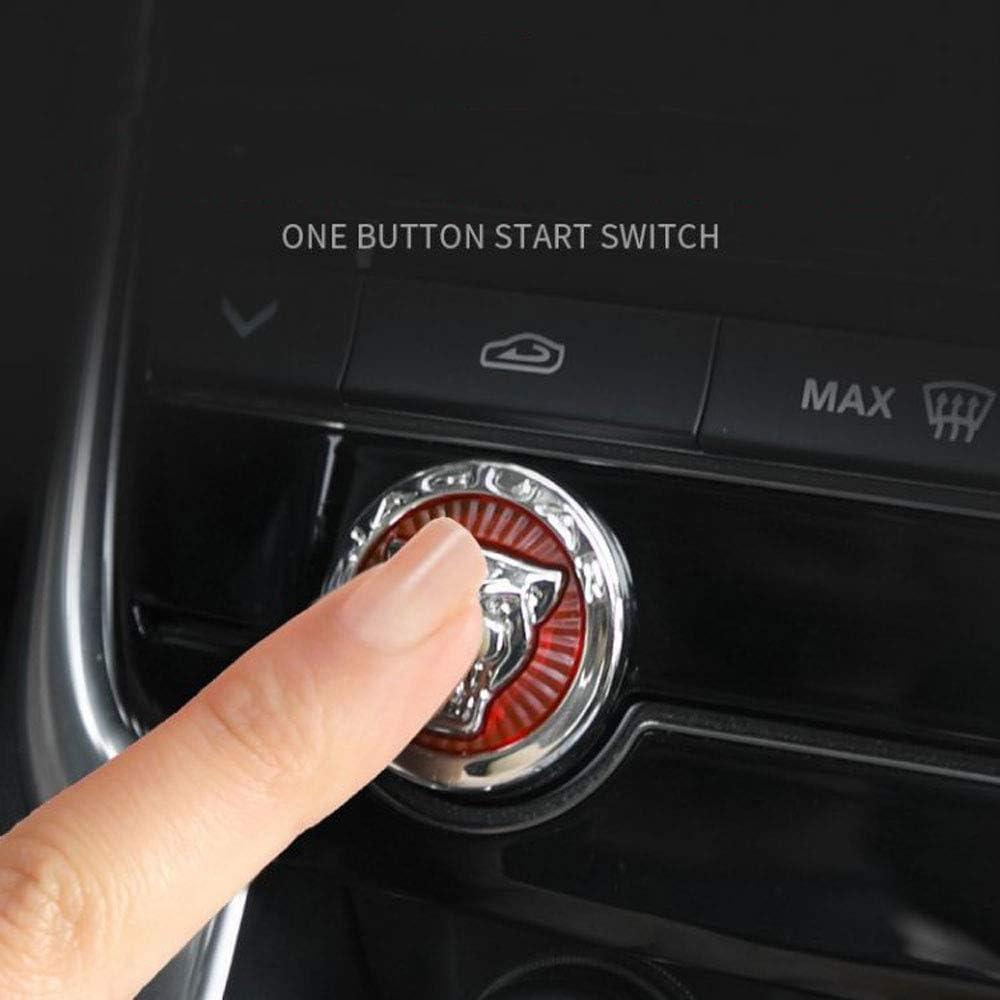 Auto Pro Für Jaguar Xfl Xjl Xe F Pace Auto Center Control Schaltknauf Kopf Dekorative Pailletten Auto Innenraum Modifikation Zubehör 1 Stück Set Auto