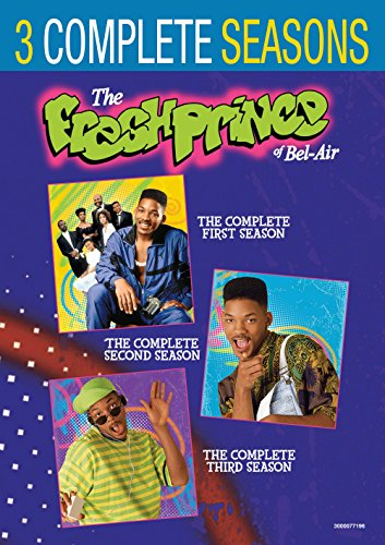 Fresh Prince of Bel-Air, The: The Complete Seasons 1-3 (DVD) (3-Pack) (The Fresh Prince Of Bel Air All Seasons)
