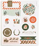 Rifle Paper Holiday Stickers & Labels, 45ct