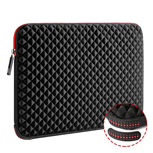 WIWU 15.6 Inch Diamond Laptop Sleeve Case with Water Repelle