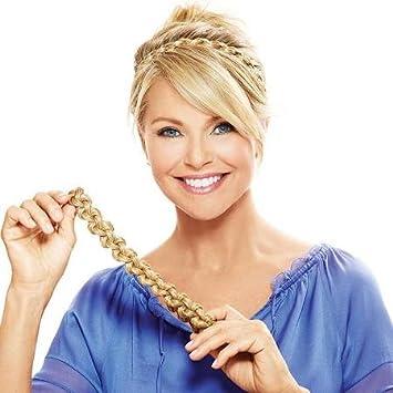 Amazon.com   Hair2wear The Christie Brinkley Collection Thick Braid Headband  - Golden Blonde   Beauty 50d188fcf6b
