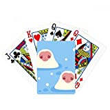 Japanese Travel Lucky Animal Poker Playing Card Tabletop Board Game Gift
