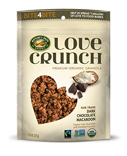c Love Crunch Premium Granola, Dark Chocolate Macaroon, 11.5 Ounce ()